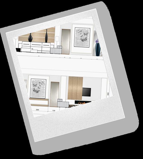 Создаём интерьер комнаты — рисунок карандашом на простой ...  Простой Интерьер Рисунок