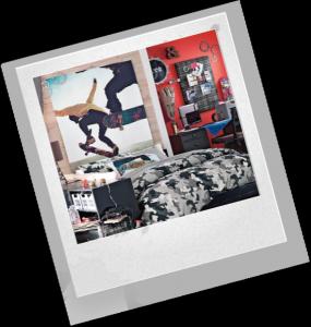 украшение комнаты мальчика
