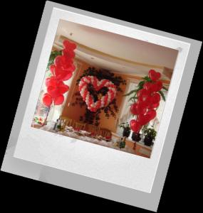 украшаем комнату на праздник