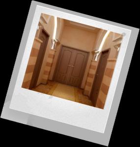 как оформить коридор в доме