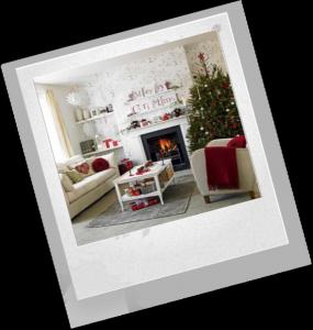 как красиво украсить дом к празднику