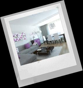 оформление трехкомнатной квартиры