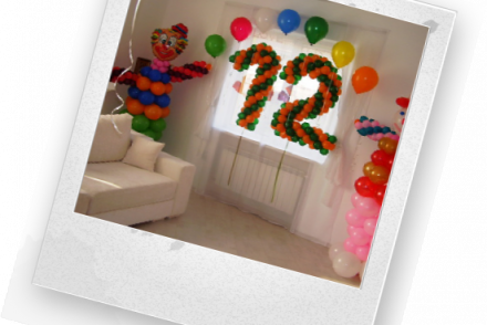 украсить квартиру на день рождения девочки