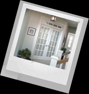 как украсить двери дома
