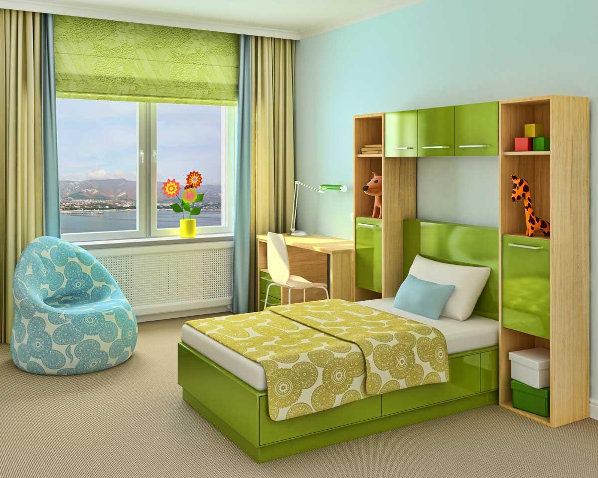 Готовые шторы в детскую комнату