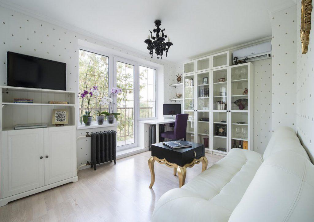дизайн квартиры в светлых тонах