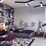 Интерьер комнаты молодого парня — как лучше сделать?