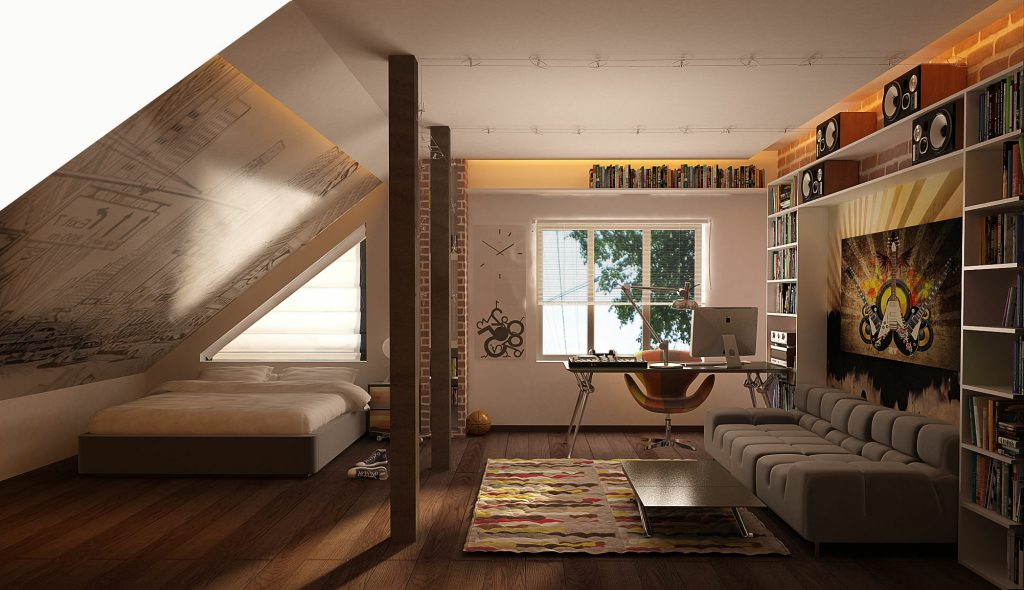 подбор интерьера комнаты