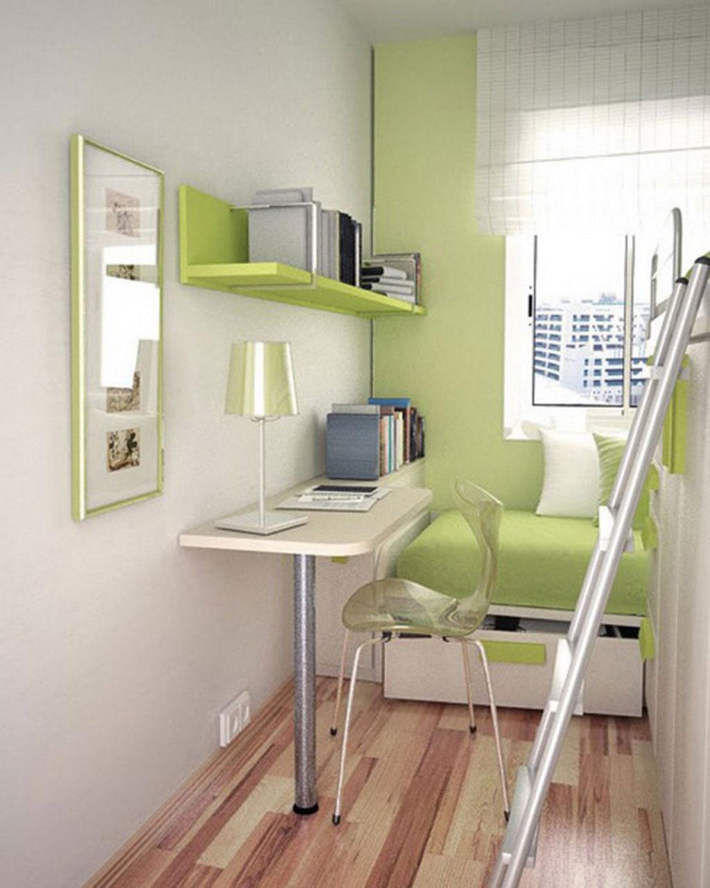 Каким может быть интерьер комнаты узкой и длинной? - уютный .