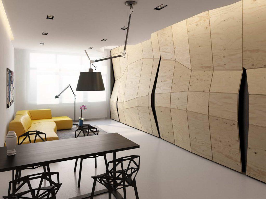 интерьер квартиры 30-35 квадратов