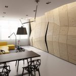 Каким можно сделать интерьер однокомнатной квартиры 35 кв м?