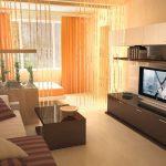 Каким сделать интерьер однокомнатной квартиры в панельном доме