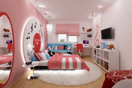 интерьер комнаты ребенка