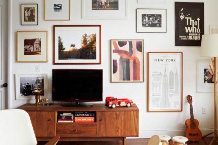 украшение стен в квартире
