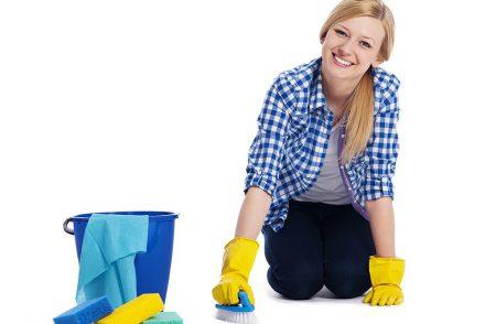 методы наведения чистоты в квартире